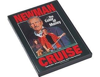Cuestix DVD's ''The Color of Money'' - movie