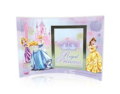 Trend Setters Disney Princesses (Royal Princess) Curved Glass Print w/ Photo Frame