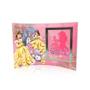 Trend Setters Disney Princesses (Belle) Curved Glass Print w/ Photo Frame