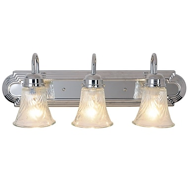 Monument Decorative 3-Light Vanity Light
