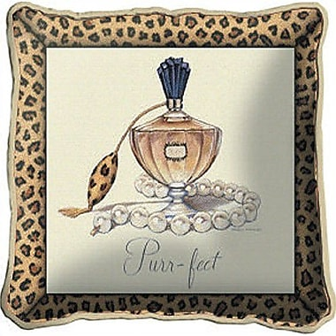 Fine Art Tapestries Purrfect Throw Pillow