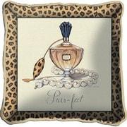 Fine Art Tapestries Purrfect Throw Pillow