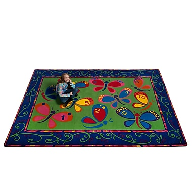 Kid Carpet Learning on the Fly Kids Rug; 4' x 6'
