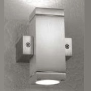 LumenArt Alume 2-Light LED Up & Downlight; Without Aluminum Square Junction Box Cover