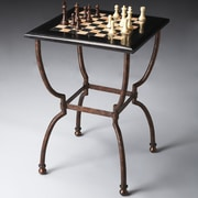 Butler Metalworks Chess Table