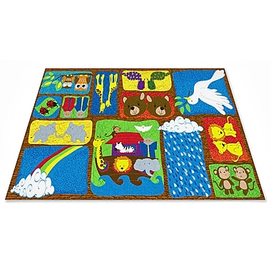 Kid Carpet Noah's Story Sunday School Area Rug; Rectangle 4' x 6'