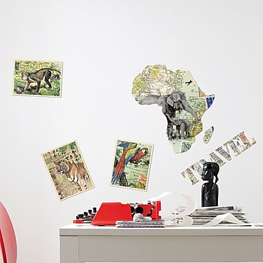 Brewster Home Fashions Euro Living Travel Wall Decal