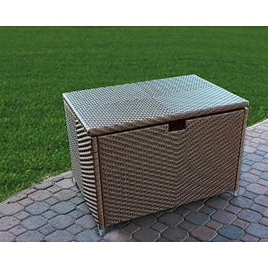Tortuga Outdoor Stonewick Resin Deck Box