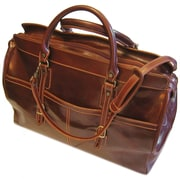 Floto Imports Casiana 21'' Leather Travel Duffel; Vecchio Brown