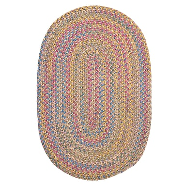 Colonial Mills Botanical Isle Sand Area Rug; Oval 12' x 15'