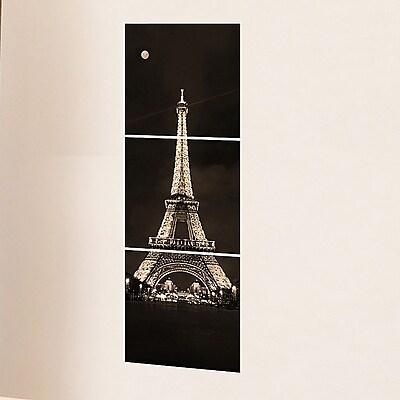 Brewster Home Fashions Euro Tour Eiffel Panoramic Wall Decal