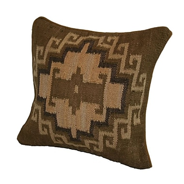 Rennie & Rose Design Group Marrakesh Cotton Throw Pillow; Camel