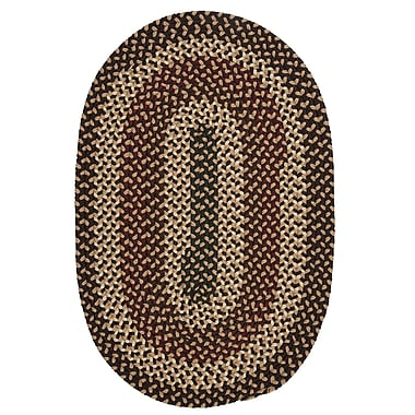 Colonial Mills Brook Farm Natural Earth Indoor/Outdoor Area Rug; Oval 12' x 15'