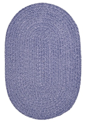 Colonial Mills Spring Meadow Amethyst Area Rug; Oval 8' x 11'