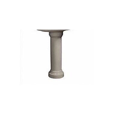 Danze Orrington Column 30'' Pedestal Bathroom Sink; Biscuit