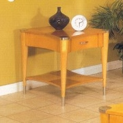 Alpine Furniture Sausalito End Table; Natural