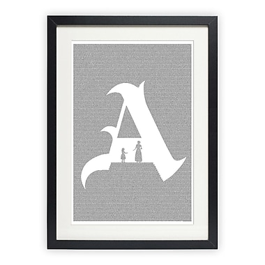 Postertext The Scarlet Letter Graphic Art