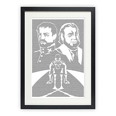 Postertext Les Mis rables - Valjean's Choice Graphic Art