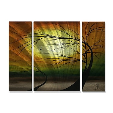 All My Walls 'Mother and Child' by Megan Duncanson 3 Piece Graphic Art Plaque Set