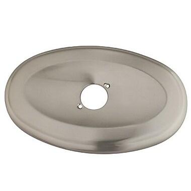 Kingston Brass Oval Shower Face Plate; Satin Nickel