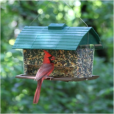 Perky Pet Seed Barn Hopper Bird Feeder (WYF078276305211) photo
