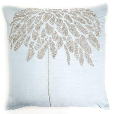 Debage Inc. Coral Tree Throw Pillow; Sky Blue