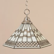 Toltec Lighting 1-Light Downlight Pendant