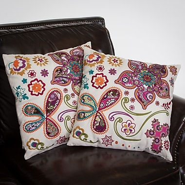 Home Loft Concepts Heather Throw Pillow (Set of 2)