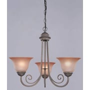 Westinghouse Lighting Spring Valley 3-Light Shaded Chandelier