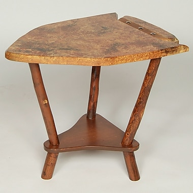 Flat Rock Furniture Dovetail Point End Table; Sienna