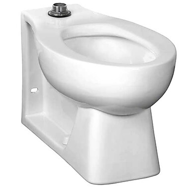 American Standard Elongated Neolo Flush Valve 1.6 GPF Elongated Toilet Bowl