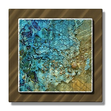 All My Walls 'Unknown Treasure' by Kelli Money Huff Graphic Art Plaque