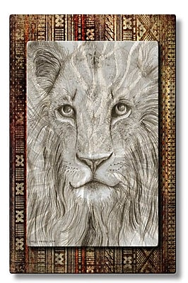 All My Walls 'African Lion' by Holly Carmichael Graphic Art Plaque