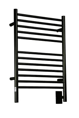 Amba Jeeves Wall Mount Electric E Straight Towel Warmer; Oil Rubbed Bronze
