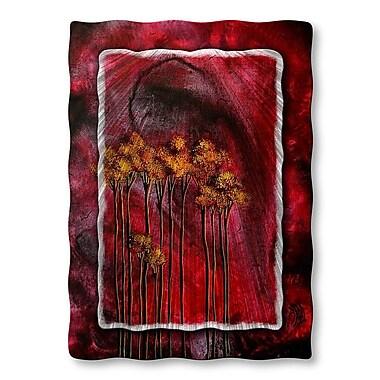 All My Walls 'Winter Sparkle' by Megan Duncanson Graphic Art Plaque