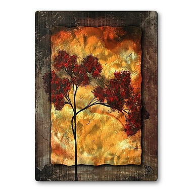 All My Walls 'Big Red' by Megan Duncanson Painting Print Plaque