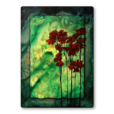 All My Walls 'Holiday Glow' by Megan Duncanson Painting Print Plaque