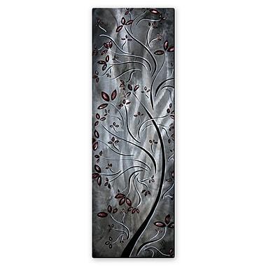 All My Walls 'Metallic Blossom' by Megan Duncanson Graphic Art Plaque