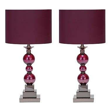 Aspire Bennie 24'' Table Lamp Set (Set of 2)