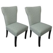 Sole Designs Melrose Chain Cotton Side Chair (Set of 2)