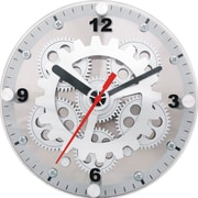 Maples Clock 6'' Moving Gear Wall / Desktop Clock
