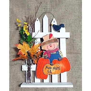 Shine Company Inc. Pumpkin Wall Decor