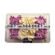 Alvin and Co. Irene's Garden O'Gardenia Flower Box (Set of 20); Lilac / White