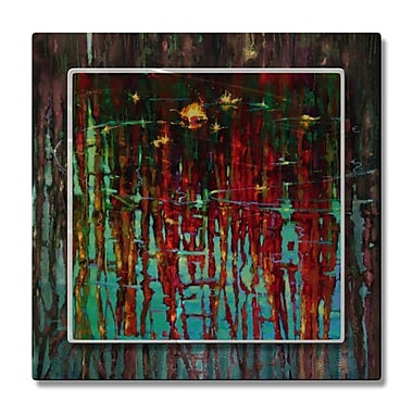 All My Walls 'Stillness of Afternoon' by Donna Young Painting Print Plaque