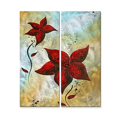 All My Walls 'Beauty Redefined' by Megan Duncanson 2 Piece Graphic Art Plaque Set