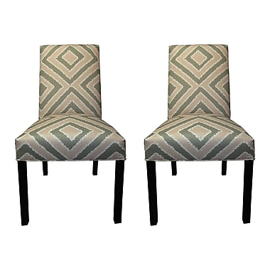 Sole Designs Nouveau Side Chairs (Set of 2); Blush