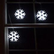 Homebrite Solar Gaint Snowflakes String Light