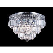 Dale Tiffany Bradford 9-Light Flush Mount