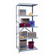 Hallowell Hi-Tech Shelving Duty Open Type 4 Shelf Shelving Unit Add-on; 87'' H x 36'' W x 24'' D
