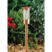 Dabmar Lighting 1-Light Pathway Light; Copper